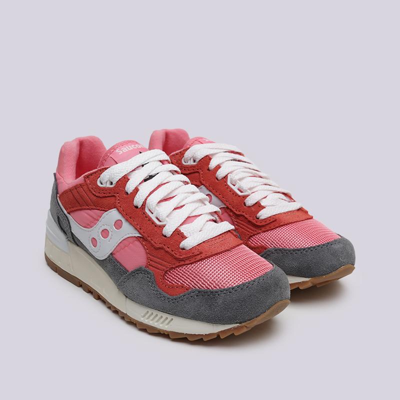 женские розовые, красные, серые  кроссовки saucony shadow  5000 vintage S6040518 - цена, описание, фото 3