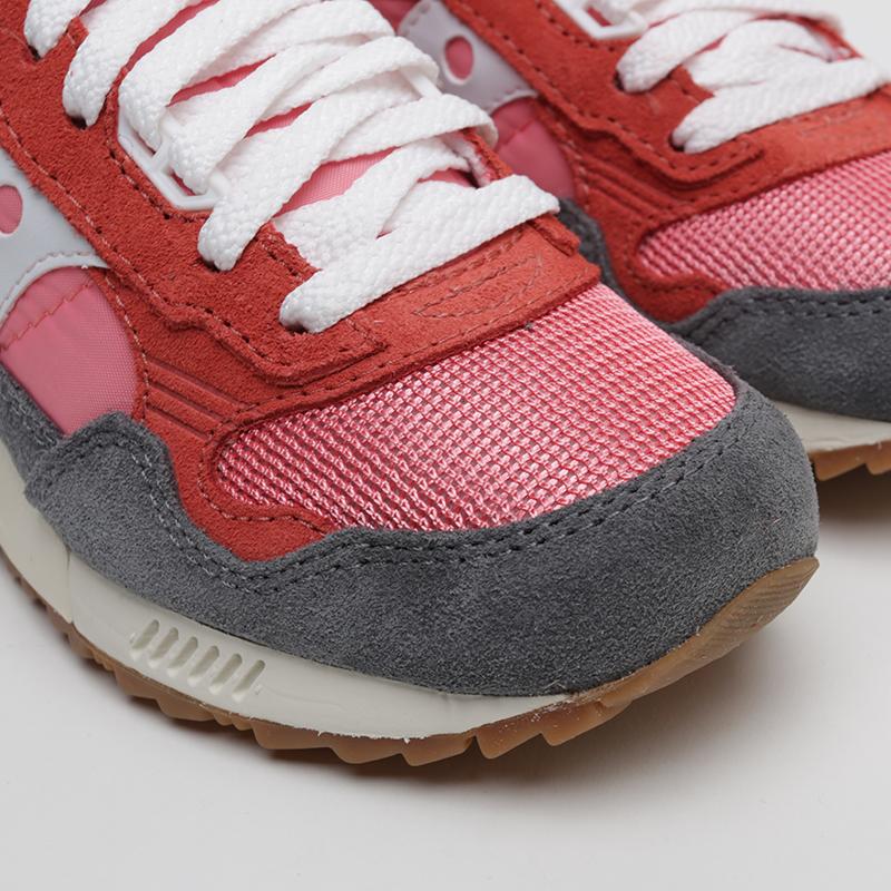 женские розовые, красные, серые  кроссовки saucony shadow  5000 vintage S6040518 - цена, описание, фото 4