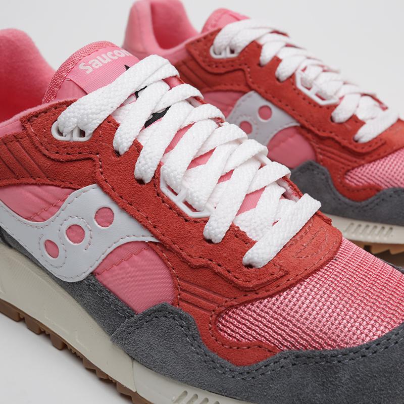 женские розовые, красные, серые  кроссовки saucony shadow  5000 vintage S6040518 - цена, описание, фото 6