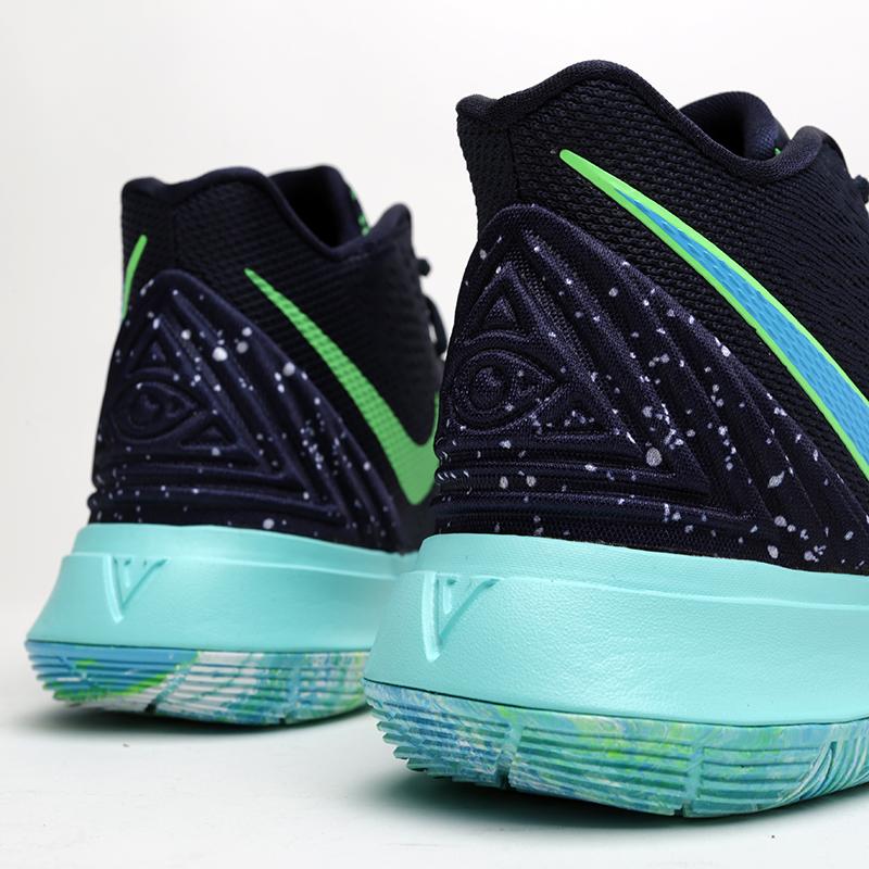 мужские синие  кроссовки nike kyrie 5 AO2918-400 - цена, описание, фото 5