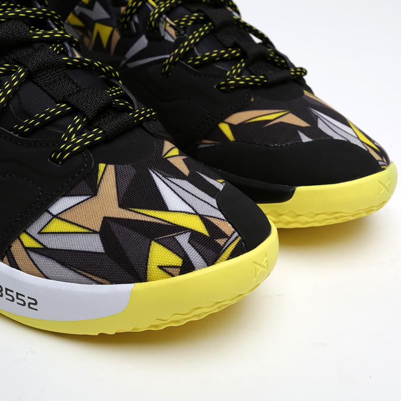 мужские чёрные  кроссовки nike pg 3 AO2607-900 - цена, описание, фото 6