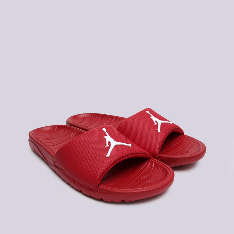 мужские красные  сланцы jordan break slide AR6374-601 - цена, описание, фото 3