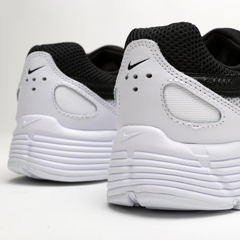 женские чёрные, белые  кроссовки nike wmns p-6000 BV1021-003 - цена, описание, фото 6