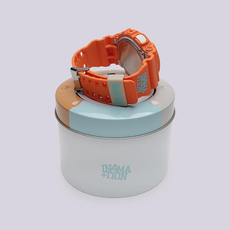 оранжевые  часы casio g-shock gax-100 GAX-100X-4A - цена, описание, фото 3
