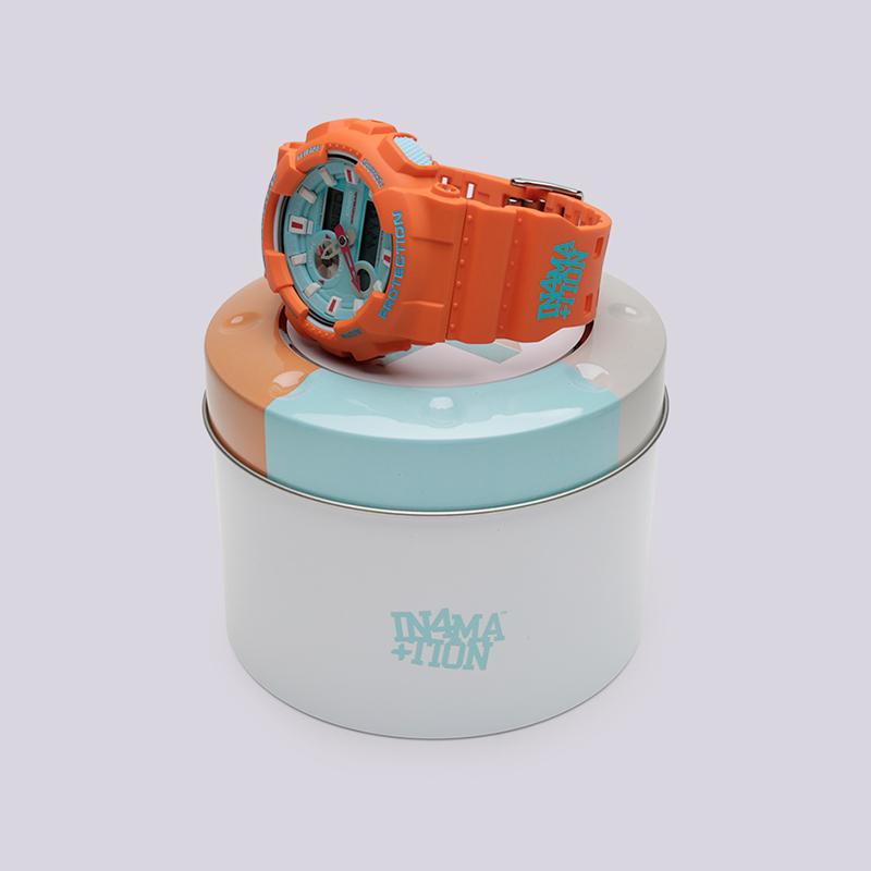 оранжевые  часы casio g-shock gax-100 GAX-100X-4A - цена, описание, фото 2
