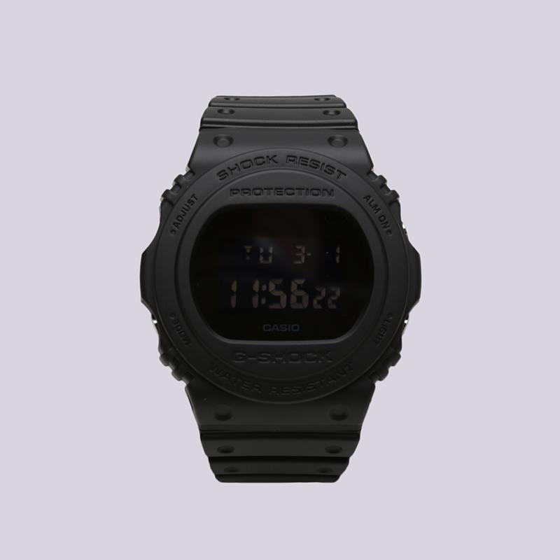 чёрные  часы casio g-shock dw-5750 DW-5750E-1B - цена, описание, фото 1