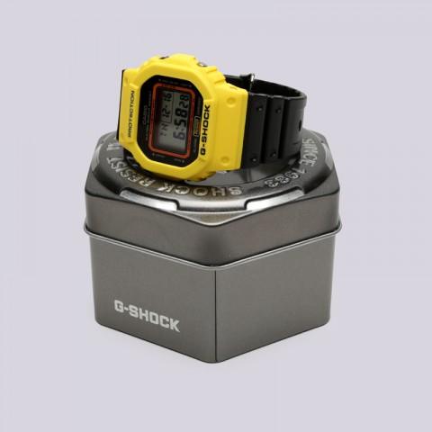 жёлтые, чёрные  часы casio g-shock dw-5600 DW-5600TB-1E - цена, описание, фото 2