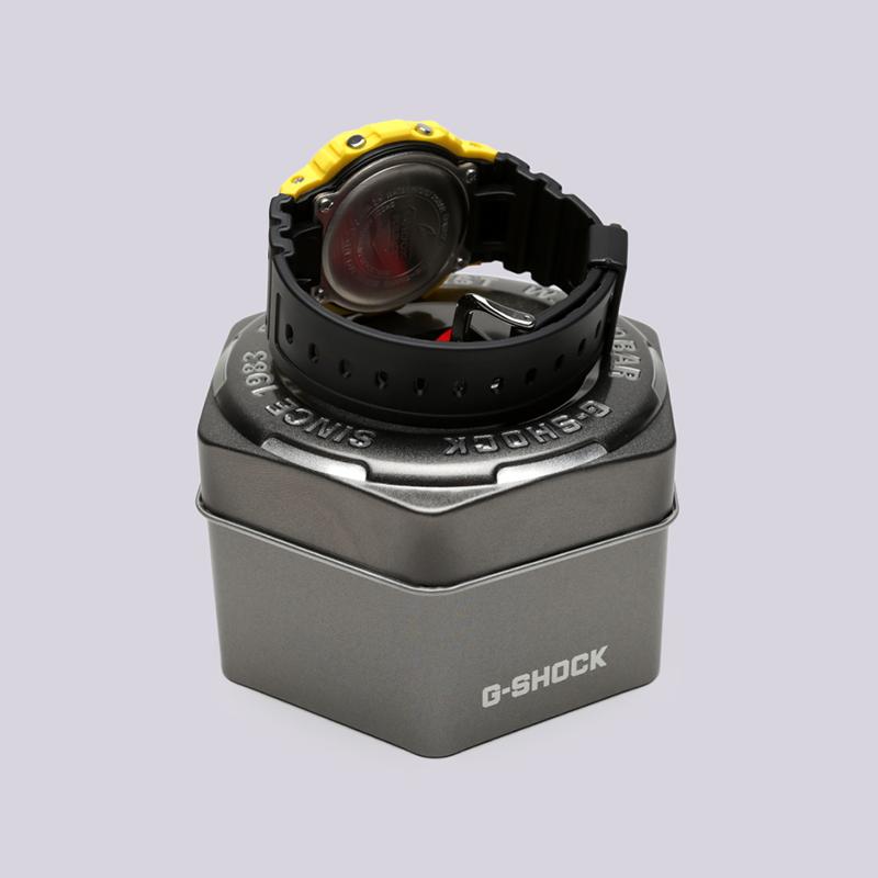 жёлтые, чёрные  часы casio g-shock dw-5600 DW-5600TB-1E - цена, описание, фото 3