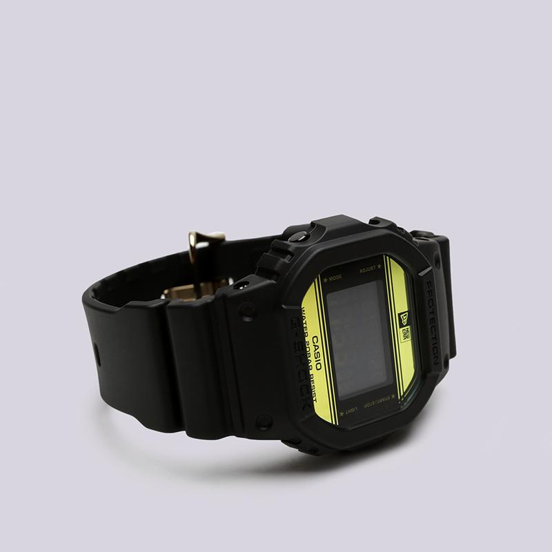 чёрные  часы casio g-shock dw-5600 x new era DW-5600NE-1ER - цена, описание, фото 1