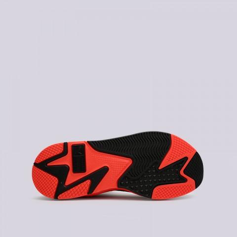 мужские белые, оранжевые  кроссовки puma rs-x reinvention 36957902 - цена, описание, фото 2