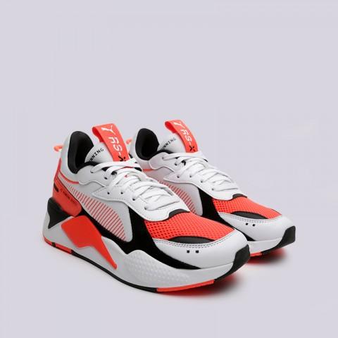 мужские белые, оранжевые  кроссовки puma rs-x reinvention 36957902 - цена, описание, фото 3