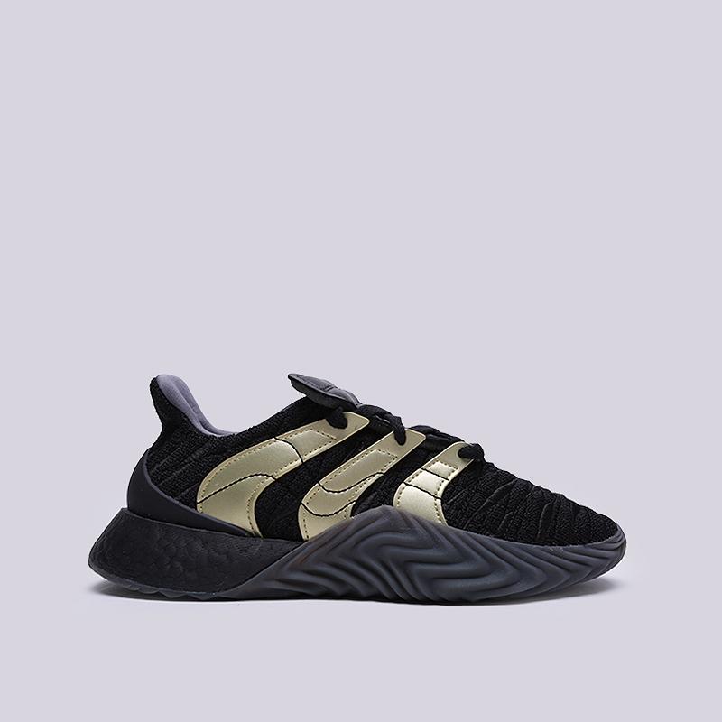 мужские черные  кроссовки adidas sobakov boost D98155 - цена, описание, фото 1
