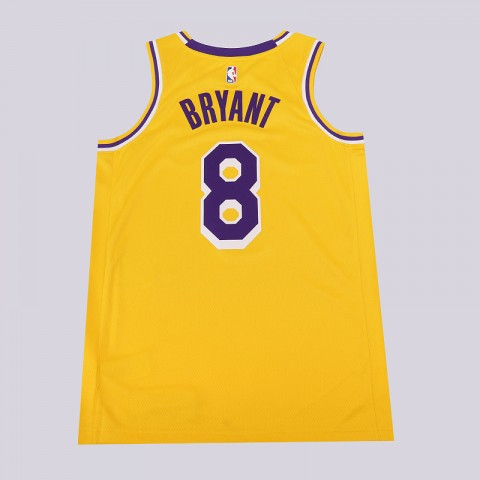 мужскую желтую  майку nike kobe bryant icon edition swingman AV1229-728 - цена, описание, фото 4