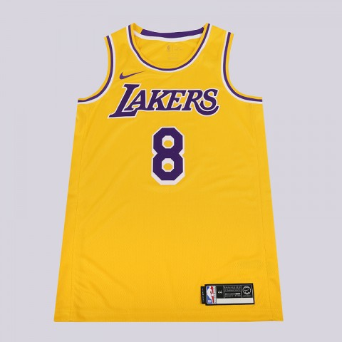 мужскую желтую  майку nike kobe bryant icon edition swingman AV1229-728 - цена, описание, фото 1