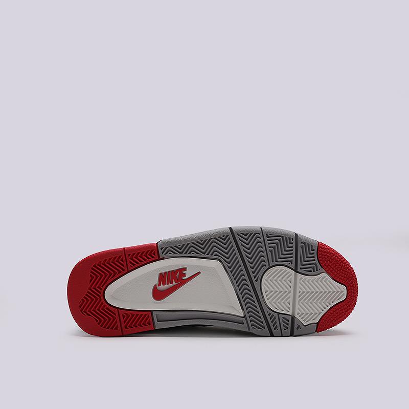 78f63839 мужские черные кроссовки jordan 4 retro 308497-060 - цена, описание, фото 4