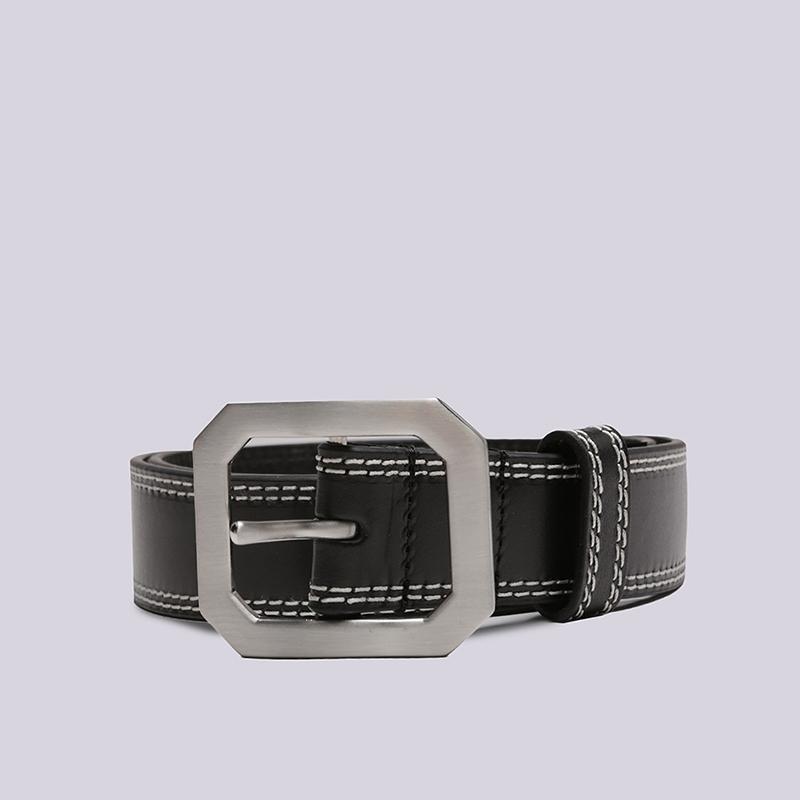 Ремень Stussy Contrast Stitch Leather Belt фото