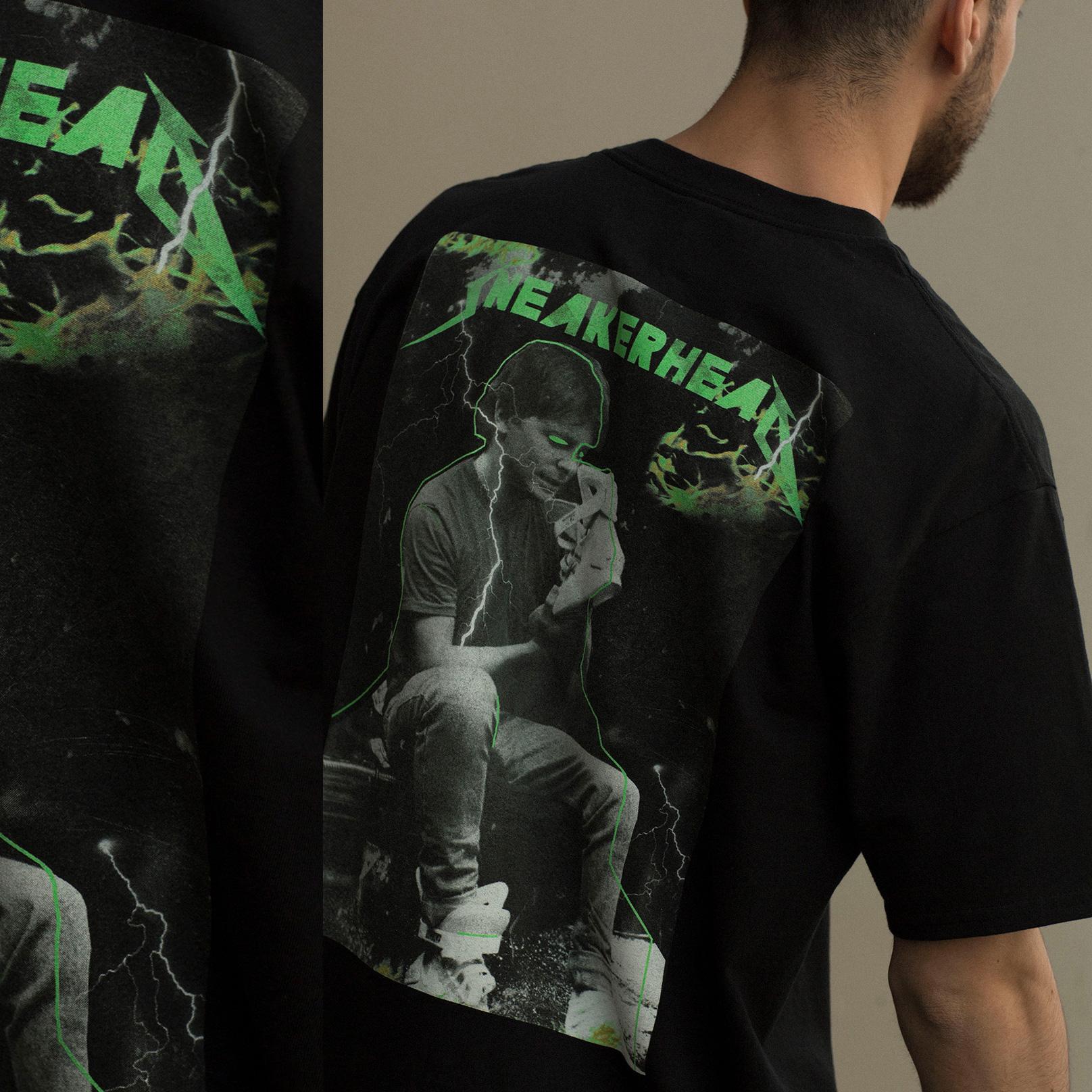 черную  футболка sneakerhead sneakerhead con Марти - цена, описание, фото 2