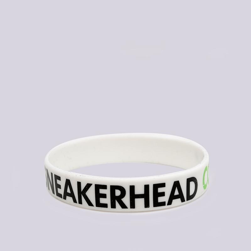 белый  браслет sneakerhead sneakercon bracer scon-bracelet - цена, описание, фото 2