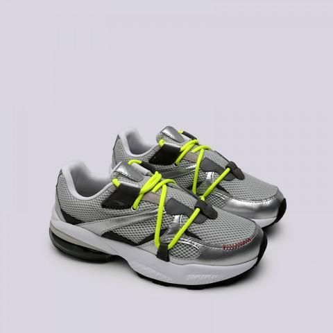 мужские серые  кроссовки puma cell venom han 36956501 - цена, описание, фото 3