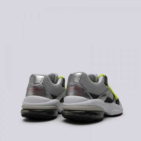 мужские серые  кроссовки puma cell venom han 36956501 - цена, описание, фото 4