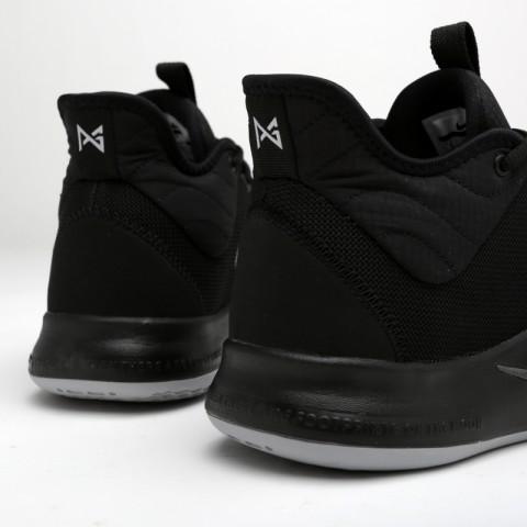 мужские чёрные  кроссовки nike pg 3 AO2607-003 - цена, описание, фото 4