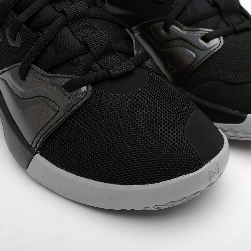 мужские чёрные  кроссовки nike pg 3 AO2607-003 - цена, описание, фото 6