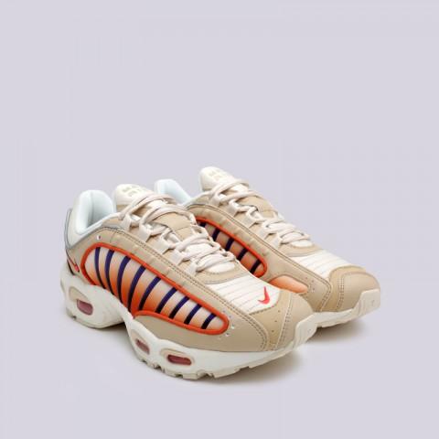 мужские бежевые  кроссовки nike air max tailwind iv AQ2567-200 - цена, описание, фото 3