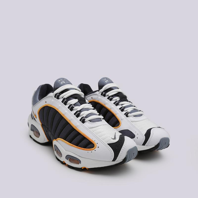 мужские серые, белые, чёрные  кроссовки nike air max tailwind iv AQ2567-001 - цена, описание, фото 6
