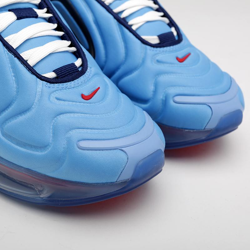 женские синие  кроссовки nike wmns air max 720 AR9293-401 - цена, описание, фото 4