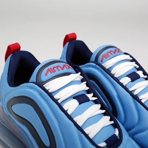 женские синие  кроссовки nike wmns air max 720 AR9293-401 - цена, описание, фото 5