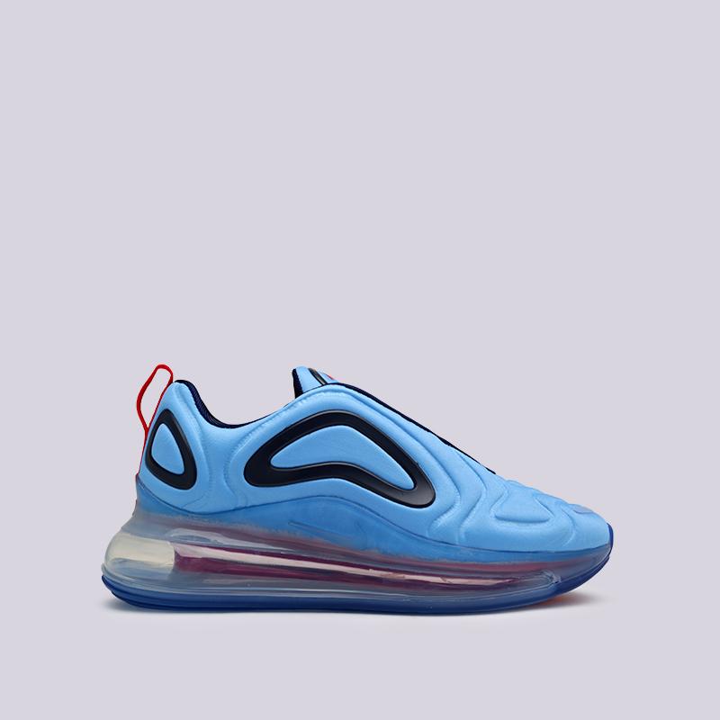 женские синие  кроссовки nike wmns air max 720 AR9293-401 - цена, описание, фото 1