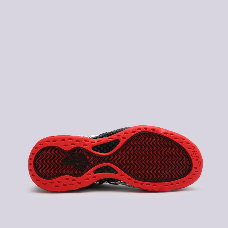 мужские чёрные  кроссовки nike air foamposite one 314996-101 - цена, описание, фото 2