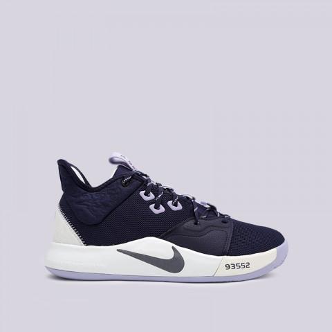 мужские синие  кроссовки nike pg 3 AO2607-901 - цена, описание, фото 1
