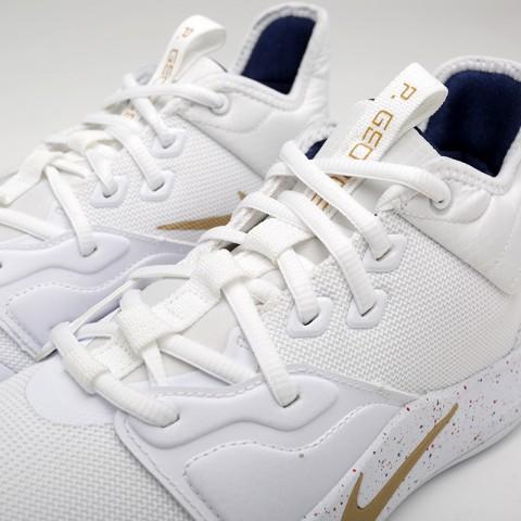 мужские белые  кроссовки nike pg 3 AO2607-100 - цена, описание, фото 5