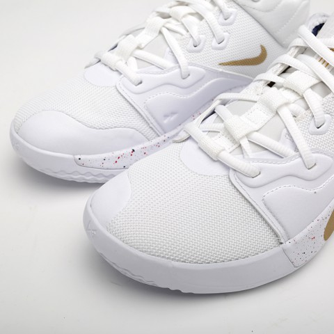 мужские белые  кроссовки nike pg 3 AO2607-100 - цена, описание, фото 6