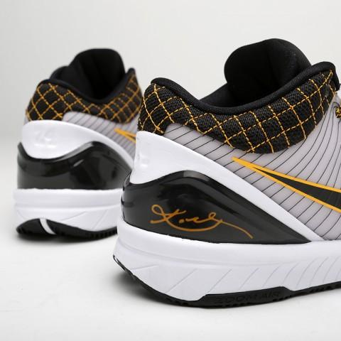 мужские чёрные  кроссовки nike kobe iv protro AV6339-101 - цена, описание, фото 4