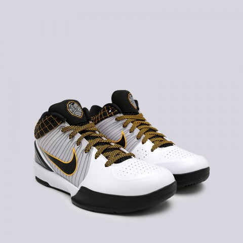 мужские чёрные  кроссовки nike kobe iv protro AV6339-101 - цена, описание, фото 3