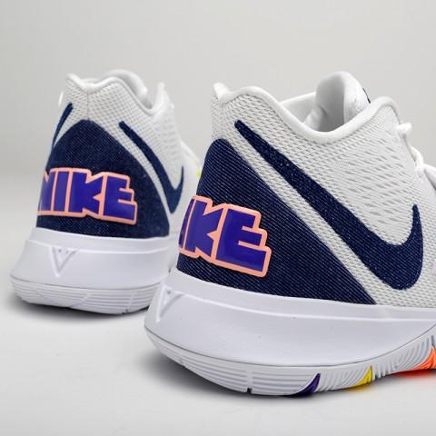 мужские белые  кроссовки nike kyrie 5 AO2918-101 - цена, описание, фото 6