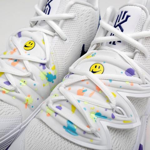 мужские белые  кроссовки nike kyrie 5 AO2918-101 - цена, описание, фото 4