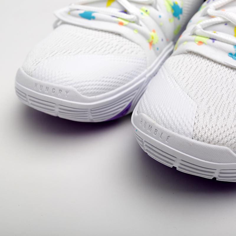 мужские белые  кроссовки nike kyrie 5 AO2918-101 - цена, описание, фото 5