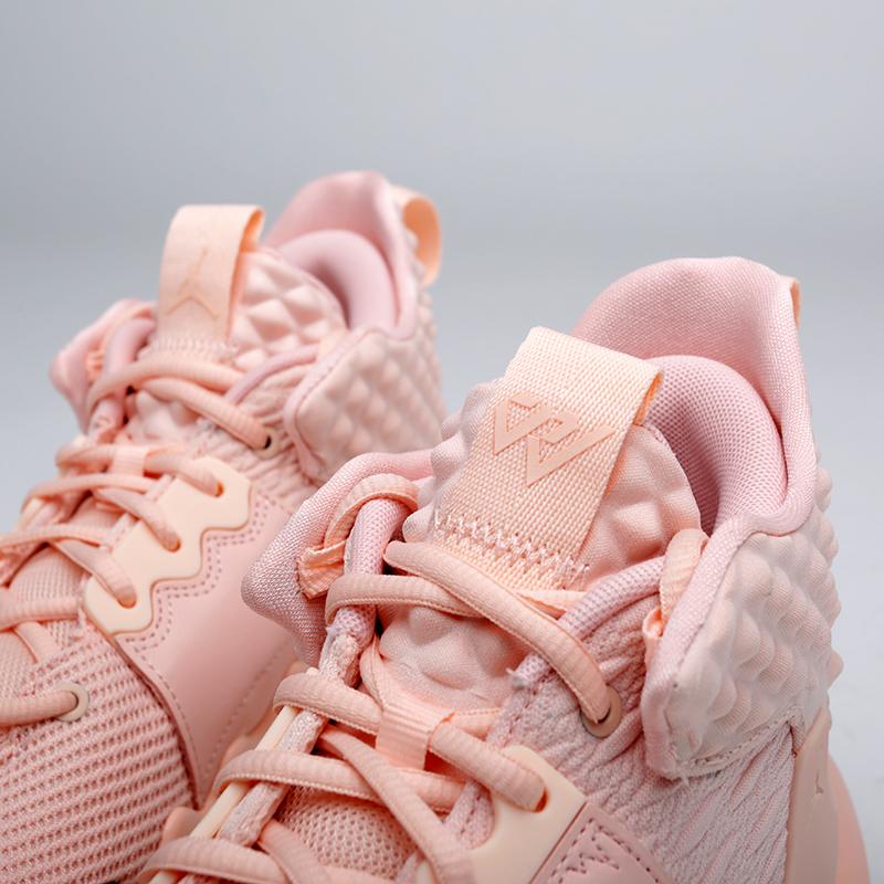 мужские розовые  кроссовки jordan why not zero.2 AO6219-600 - цена, описание, фото 6
