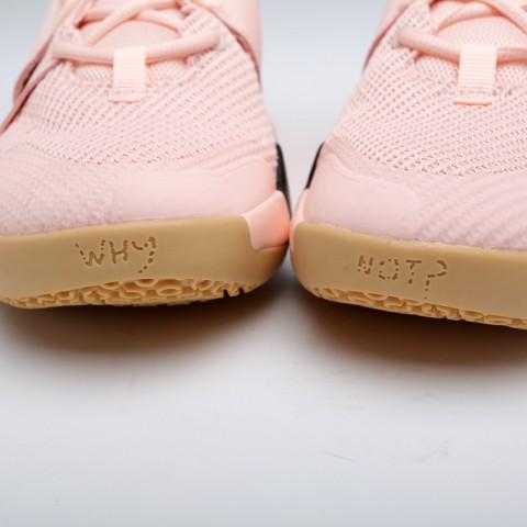 мужские розовые  кроссовки jordan why not zero.2 AO6219-600 - цена, описание, фото 7