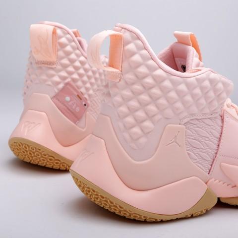 мужские розовые  кроссовки jordan why not zero.2 AO6219-600 - цена, описание, фото 5