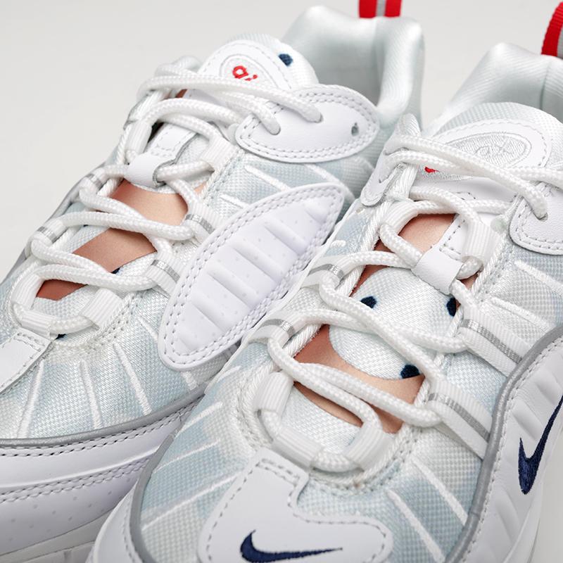 женские белые  кроссовки nike wmns air max 98 prm CI9105-100 - цена, описание, фото 6
