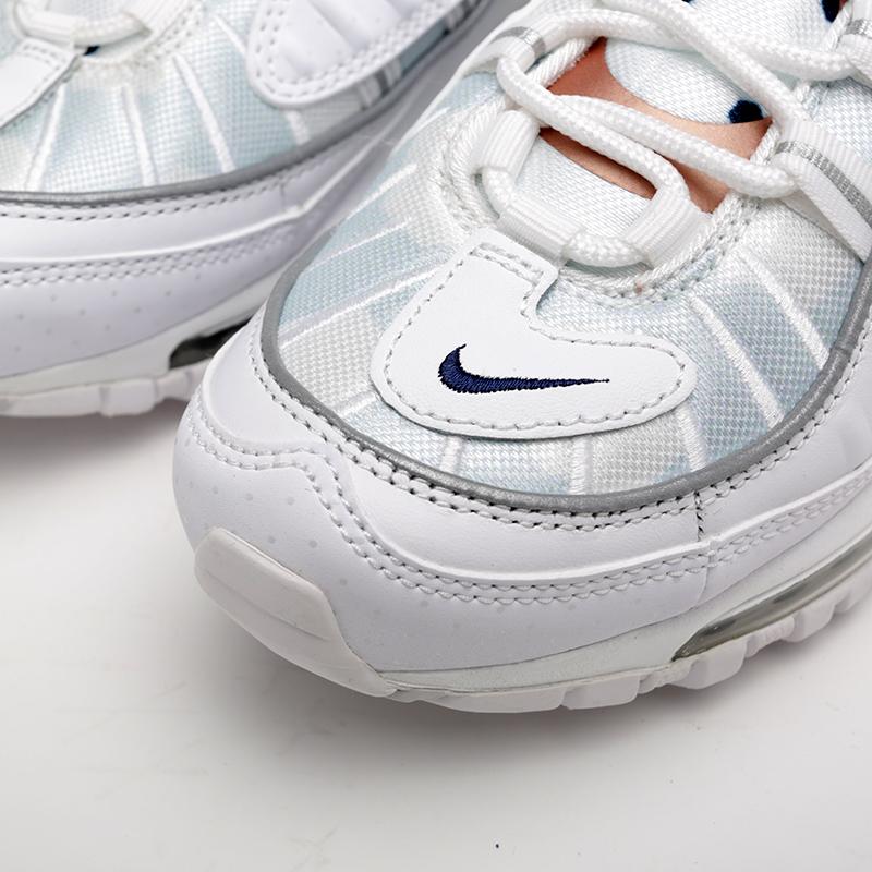 женские белые  кроссовки nike wmns air max 98 prm CI9105-100 - цена, описание, фото 5