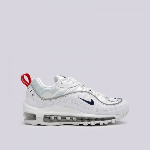 женские белые  кроссовки nike wmns air max 98 prm CI9105-100 - цена, описание, фото 1