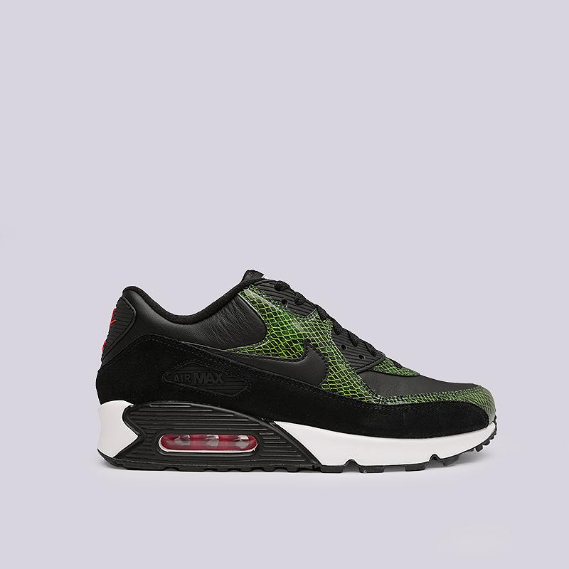 462037e6 черные, зеленые кроссовки nike air max 90 qs CD0916-001 - цена, описание