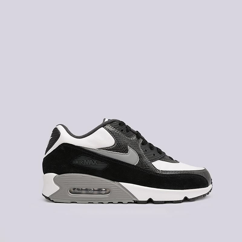055e30e9 мужские черные, белые, серые кроссовки nike air max 90 qs CD0916-100 -