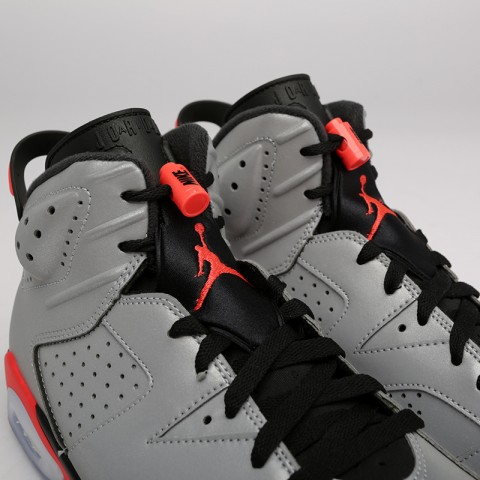 мужские серые  кроссовки jordan 6 retro sp CI4072-001 - цена, описание, фото 5