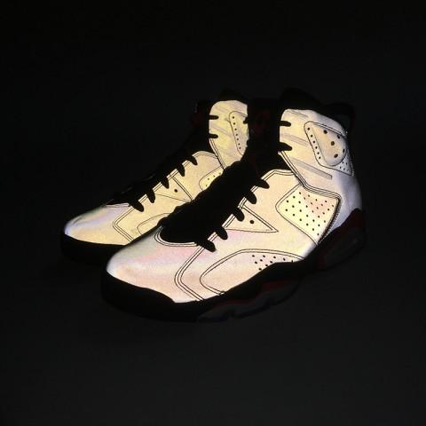 мужские серые  кроссовки jordan 6 retro sp CI4072-001 - цена, описание, фото 7